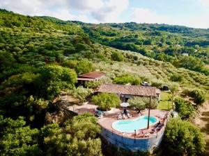 Villa Alessandra from the sky